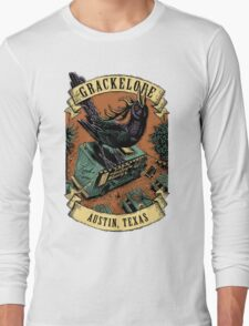 The Grackelope (color banners) Long Sleeve T-Shirt