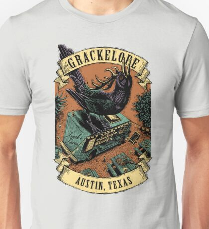 The Grackelope (color banners) Unisex T-Shirt