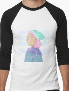 Pastel Men's Baseball ¾ T-Shirt
