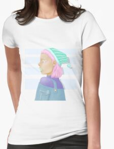 Pastel Womens Fitted T-Shirt