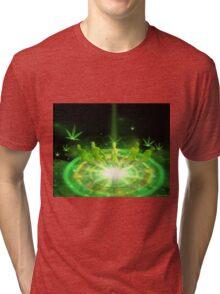 Green Dreams levitations Tri-blend T-Shirt