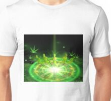 Green Dreams levitations Unisex T-Shirt