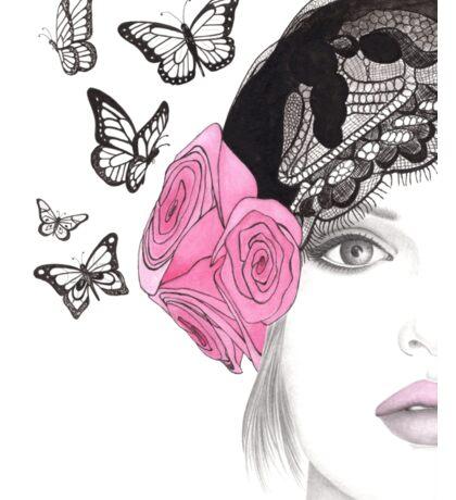 Butterfly Belle Sticker