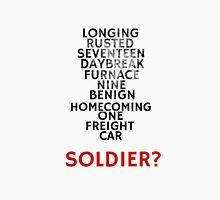 Winter Soldier Activation Code Words - Textured Unisex T-Shirt