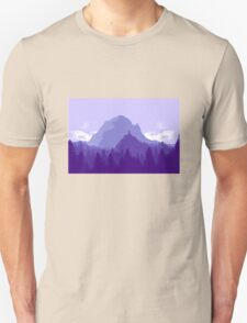 Purple Landscape T-Shirt