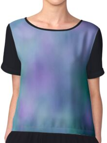 Blurred Chiffon Top