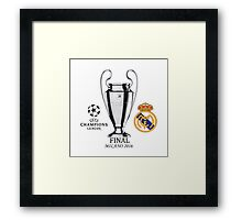 HOT ITEM Real Madrid UEFA Champions League 2016 Final Framed Print