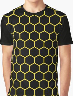 Hexed Yellow Graphic T-Shirt