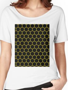 Hexed Yellow Women's Relaxed Fit T-Shirt