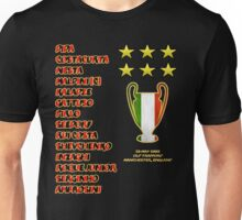 AC Milan 2003 Champions League Final Winners Unisex T-Shirt