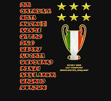 AC Milan 2003 Champions League Final Winners Unisex T-Shirt