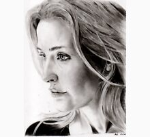 Gillian Anderson charcoal Unisex T-Shirt