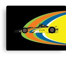 Stefan Wilson (2016 Indy 500) Canvas Print