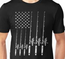 Fishing American Unisex T-Shirt