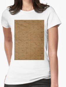 GRAHAM CRACKER (Textures) Womens Fitted T-Shirt