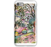 Olive Trees at Collioure , Henri Matisse iPhone Case/Skin