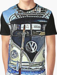 Ski Bus Graphic T-Shirt