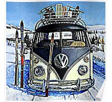 Ski Bus Poster