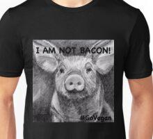 I AM NOT BACON! Unisex T-Shirt