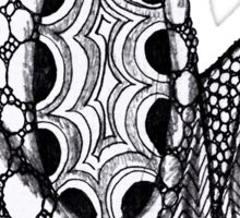 Zentangle Sticker