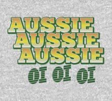 Aussie Aussie Aussie OI OI OI !  Australian chant for Australia day One Piece - Long Sleeve