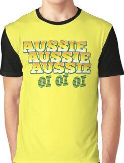 Aussie Aussie Aussie OI OI OI !  Australian chant for Australia day Graphic T-Shirt