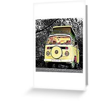 Slow Bus Greeting Card