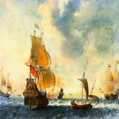 Old Dutch Sailing Ships by JohnDSmith