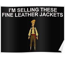 MONKEY ISLAND- Fine leather jackets! Poster