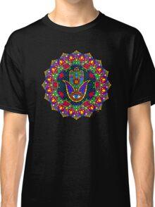 Hamsa Harmony Mandala Classic T-Shirt