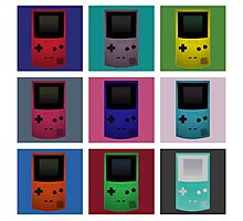 Gameboy Warhol Photographic Print