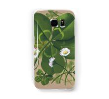 Cloverleaf - acrylic painting Samsung Galaxy Case/Skin