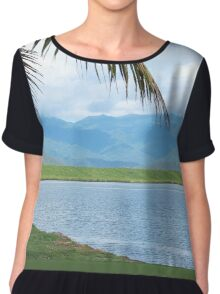 On the Inlet Women's Chiffon Top