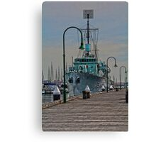 Williamstown jetty Canvas Print