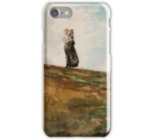 Watching from the Cliffs ,  Winslow Homer, iPhone Case/Skin