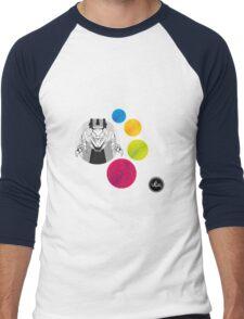 Let's Go Lion! Men's Baseball ¾ T-Shirt