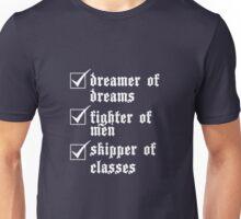 Ronan's a Dreamer (White) Unisex T-Shirt