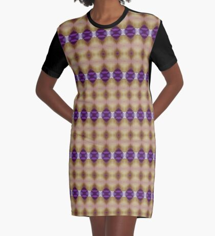 Hearts And Gems Graphic T-Shirt Dress