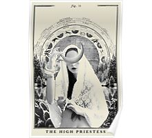 Fig II. - The High Priestess Poster