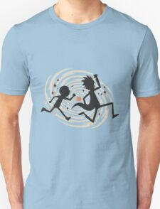 rick n morty runing Unisex T-Shirt