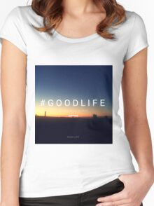 #goodlife Women's Fitted Scoop T-Shirt