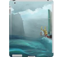 Quickly BOAT! iPad Case/Skin