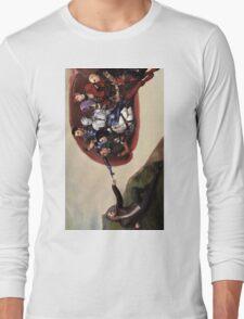 ME sistine chapel parody Long Sleeve T-Shirt
