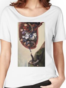 ME sistine chapel parody Women's Relaxed Fit T-Shirt