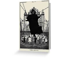 Fig XV - The Devil Greeting Card