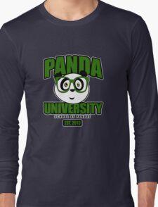 Panda University - Green 2 Long Sleeve T-Shirt