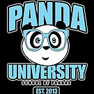 Panda University - Blue 2 by Adamzworld