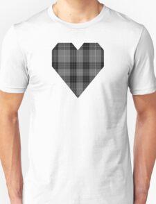 00884 Westwood MacRock Fashion Tartan  Unisex T-Shirt