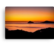 Sunset at Wilsons Promontory Canvas Print