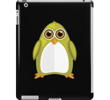 Yellow Green Penguin 2 iPad Case/Skin